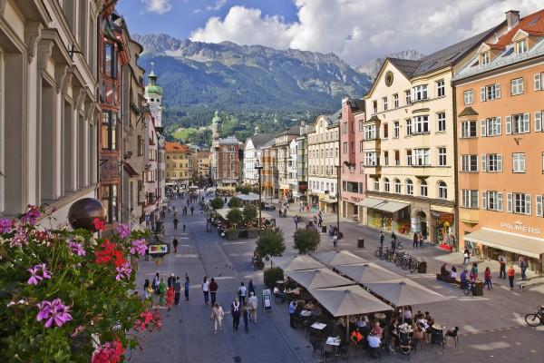 Theresien Strasse à Innsbruck © Lackner