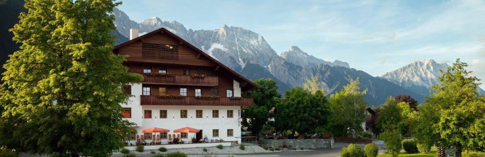 landhotel stern - tirol - familienurlaub - ansicht sommer1