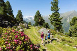 Randonnée en famille, Vallée Sellraintal © TVB Innsbruck Mario Webhofer
