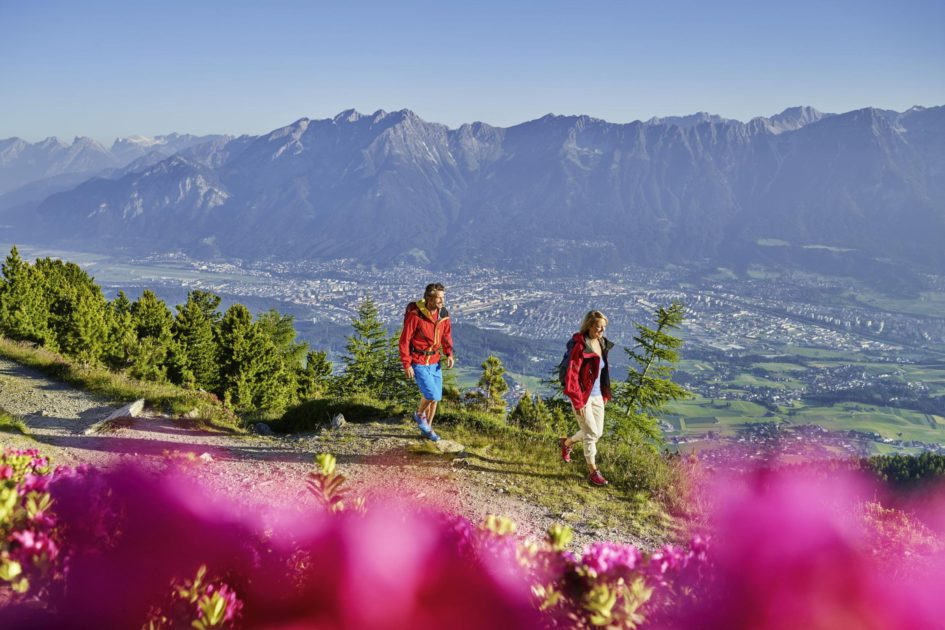 Randonnée sur le mont Patscherkofel © TVB Innsbruck / Christof Lackner