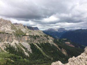 Vue sur les Dolomites Tyrol du Sud © Natalie Lantos
