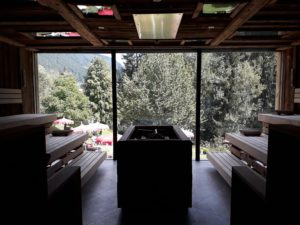 Sauna exterieur 2.0 Hotel Engel © Natalie Lantos