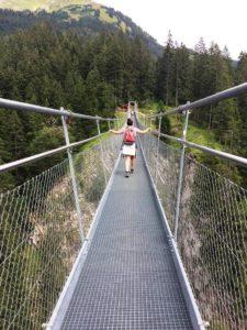 Pont suspendu Holzgau © Natalie Lantos