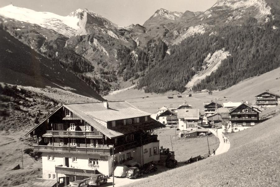 Ancienne Pension Alpenhofà Hintertux
