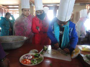 Apprenties cuisinières au Népal, Projet de formation de Tshering Lama Sherpa