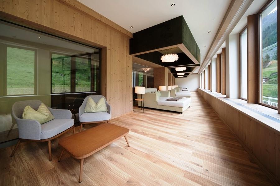 Nouvel espace de détente © Hotel Alpenhof Hintertux / Birgit Koell