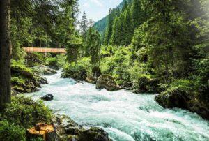 Chemin des eaux sauvages, Ruetz Katarakt, Stubaital © TVB Stubai Tirol - Andre Schoenherr