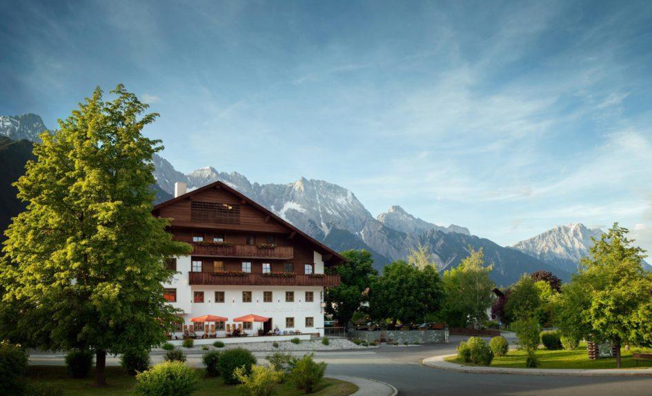 Vacances d'été en famille au Familien Landhotel Stern, Obsteig, Tyrol