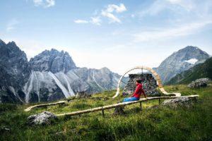 Point de vue panoramique, Mont Elfer © TVB Stubai Tirol - Andre Schoenherr