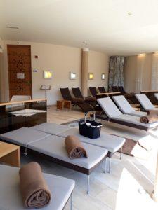 Hotel Jerzner Hof espace détente près de la piscine