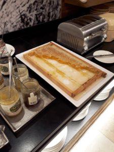 Hotel Jerzner Hof petit déjeuner buffet miel